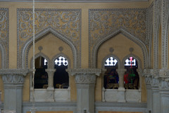 Arched Windows (VinayakH) Tags: india gardens royal palace hyderabad royalpalace nizam telangana chowmahallapalace