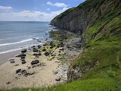 Pendine Sands (deadmanjones) Tags: pendine pentywyn beach foreshore seashore cliff