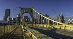 Rachel Carson Bridge - Pittsburgh (Philip Scott Johnson) Tags: ninthstreetbridge rachelcarsonbridge pittsburgh pittsburghpennsylvania pennsylvania alleghenyriver downtownpittsburgh