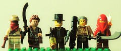 RPG Hunters (joaqunechavarra) Tags: minifigure minifig custom role playing game rpg purist lego fantasy steampunk