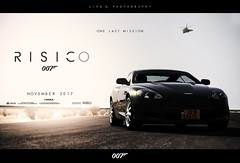 RISICO poster (lifegphotos) Tags: flare sunny automotive luxury london uk db9 astonmartin cars movieposter photoshop fake imax poster ps3 granturismo cinema film movies jamesbond