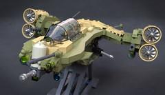 Bell V-35 (Sunder_59) Tags: lego moc blender3d mecabricks vtol aviation vehicle military aircraft plane convertoplane