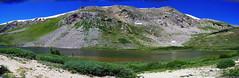 Pass Lake (dreamer220) Tags: mountain lake mountainpeak topofpass