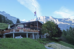 le refuge de Derborence  Valais (luka116) Tags: montagne restaurant suisse chalet paysage juillet valais refuge 2016 derborence