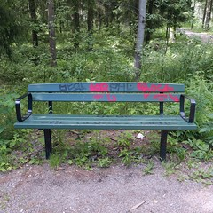 1or Bock (neppanen) Tags: suomi finland bench graffiti helsinki tag tags tagging bock handstyle penkki tagi discounterintelligence ksiala sampen iorbock helsinginkilometritehdas pivno46 reittino46 reitti46 piv46