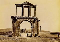 ,  1874 (Giannis Giannakitsas) Tags:  athens athenes athen greece grece griechenland 19th century 19     arch of hadrian pascal sebah