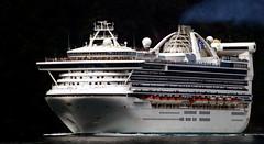 Golden Princess. (Bernard Spragg) Tags: goldenprincess ships cruise vessels lumixfz1000 large princesscruises
