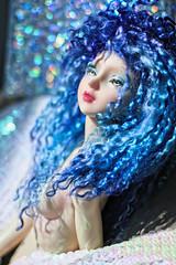 deep summer blue (UMBRA-GULABA (Instagram: umbra_gulaba)) Tags: bjd abjd blue colors dolls balljointeddoll dollphotography cute doll mermaid mohair portraits angellstudio angellstudiokana kanasp