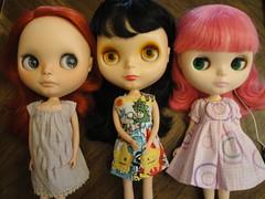 Visiting Friends (``` November Rain ```) Tags: chantillylace allgoldinone primadollylondon blythedoll