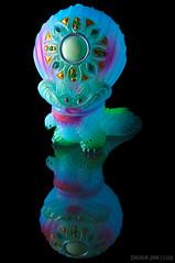"Gyogura ""2nd Color"" version (chogokinjawa) Tags: japan toy toys nikon reflet figure figurine reflexion jouet kaiju japanesetoy designertoy toyportrait neokaiju micronikkor60mm toyphotography sofubi nikondslr micronikkor60mmf28 sofvi softvinyl nikond90 figureportrait japanesevinyltoy gumtaro japanesesofubi softvinylfigure toycloseup gyogura spacemerman akibamasahiro sofvitokyo designfestavol43 2ndcolorversion"