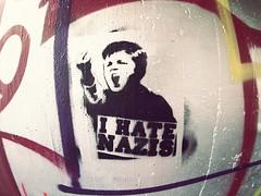 Aerosol Art (Markus Rdder (ZoomLab)) Tags: streetart art graffiti hate graffito aerosol muenster aerosolart nonazis dahlweg hatenazis