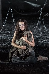 Marina Prudenskaya as Azucena in Il trovatore, The Royal Opera  2016 ROH. Photograph by Clive Barda (Royal Opera House Covent Garden) Tags: opera coventgarden theroyalopera production productionphoto verdi iltrovatore bydavidbsch marinaprudenskaya actionshot