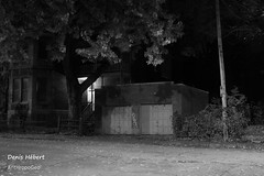 Rue Larivire/Garage (Denis Hbert) Tags: anthropogeo denishbert faubourgmlasse centresud montreal montral qubec quebec canada 2015 monochrome montrealnight montrealcentresudnight montrealfaubourgmlassenight ngc newtopographer newtopographics newtopographic noiretblanc nuitcentresud nuitfaubourgmlasse nuitmontreal nuit november novembre noir bw blackandwhite blackwhite black blanc ville city calme canon extrieur arbres steet shadowy shadows shadow automne darkandlight fall ombrage ombre urban urbaine urbain rue trees tree porte door quiet