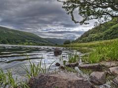 Talybont Reservoir (Ian Gedge) Tags: wales uk britain talybont reservoir lake water breconbeacons rocks trees