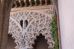 More archways (petyr.rahl) Tags: spain aljafera zaragoza aragn es