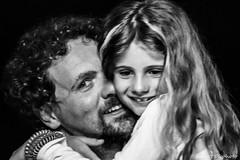 203#365 A.A. (Fabio75Photo) Tags: abbracci sorrisi padre uomo figlia amore love tenerezza sguardi occhi capelli gioia vivere speranza