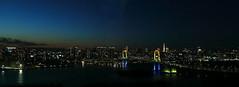 85_The nightscene of Odaiba (fosa.) Tags: nightscene odaiba nightview rainbowbridge fcg fujitv