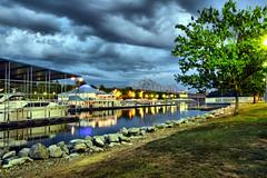 Mcfarland (Redbird310) Tags: bridge water river boats dock tennessee oneil