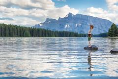 I AM (Jennifer Kapala Photography) Tags: jenniferkapalaphotographycalgarybabyphotography calgaryfamilyphotographers calgaryfamilyphotographer banff two jack lake canadian rockies rocky mountains canada alberta