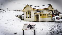 Waratah Post Office, Tasmania (paulledger81) Tags: waratah tarkine snow winter tasmania cold