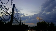 #sky #night #clouds #city #light #purple (Sla_Isk) Tags: clouds light sky purple city night