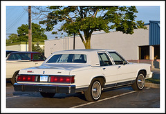 1985 Mercury Marquis 4-Door Sedan (sjb4photos) Tags: brownsrootbeer southlyon