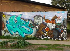 HIPHOP EN EL BARRIO (3DIES vs 310) Tags: hiphop breakdance bboys 3dies graffiti street graff oldschool vpc gm nase renca