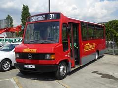 [F601XMS] - West Ham Depot, London (23/07/16) (David's NWTransport) Tags: f601xms alexandersprint alexander mercedesbenz811d mercedes811d mercedesbenz mercedes