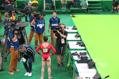IMG_3584 (Mud Boy) Tags: rio riodejaneiro brazil braziltrip brazilvacationwithjoyce rio2016 rioolympics rioolympics2016 summerolympics 2016summerolympics jogosolímpicosdeverãode2016 gamesofthexxxiolympiad thebarraolympicparkbrazilianportugueseparqueolímpicodabarraisaclusterofninesportingvenuesinbarradatijucainthewestzoneofriodejaneirobrazilthatwillbeusedforthe2016summerolympics barraolympicpark barradatijuca rioolympicarena zonebarradatijuca gymnasticsartisticwomensindividualallaroundfinalga011 gymnasticsartisticwomensindividualallaroundfinal ga011 rioolympicarenagymnastics gymnastics alyraisman floorexercise competition favorite rio2016favorite riofacebookalbum riofavorite olympics