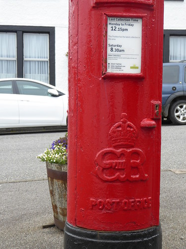 Edward VIII Postbox Tobermory Isle of Mull