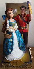 DFDC Belle & Gaston (Lagoona89) Tags: disney dfdc designer fairytale collection heroes vs villains beaty beast batb belle gaston doll