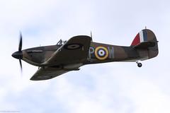 Hurricane (Canon_Snapper) Tags: aircraft aviation militaryaircraft warbird warbirds ww2aircraft hawker hurricane airshows littlegransden charityairshow aircarshow
