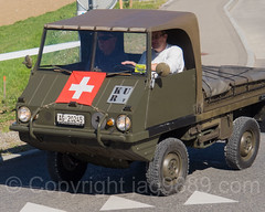 Steyr-Puch Haflinger Swiss Army Jeep (jag9889) Tags: convoytoremember2016 haflinger birmenstorf cantonaargau truck switzerland car outdoor 2016 europe 20160813 jag9889 ag aargau austria auto automobile ch convoytoremember event exhibition fourwheeldrive helvetia kantonaargau lightutilityvehicle military militr offroad oldtimer schweiz show steyrpuch suisse suiza suizra svizzera swiss transportation vehicle