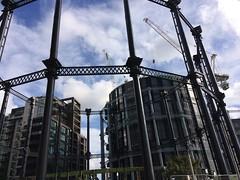 Gas Holder (My photos live here) Tags: london capital city england kings cross st pancras barnsbury camden gassholder gas holder development regeneration urban flats buildings gasholders