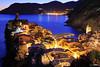 Vernazza at Night (tomosang R32m) Tags: night yakei 夜景 blue bluemoment cinqueterre チンクエ・テッレ liguria リグーリア ラ・スペツィア italia italy laspezia イタリア 世界遺産 vernazza ヴェルナッツァ canon eos 6d coast dusk