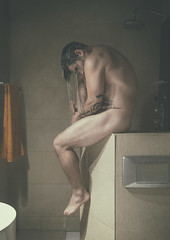 Moment shower, relax time. (jcalveraphotography) Tags: selfportrait selfie serie shower nude nudeart nature naked portrait photo projects photographer