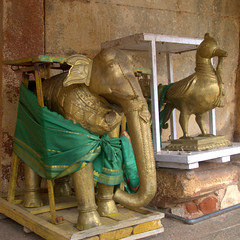 Deepstambs - Stands for lighting lamps (VinayakH) Tags: bhoganandeeshwaratemple karnataka india temple nandihills chikkaballapura chola ganga hoysala tipusultan religious historic