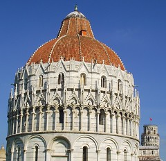 PISA BATTISTERO E TORRE PENDENTE (patrick555666751) Tags: pisa battistero e torre pendente tower tour penchee baptistere baptistery campo dei miracoli champ des miracles pise italie italia italy toscane toscana toscany europa pisabattisteroetorrependente europe flickr heart group