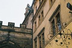Prague (kaddafi210) Tags: prakticaplc2 praktica m42 czechrepublic czech 35mm film analogue analog slr prague praha summer architecture urban street retro vintage old style