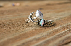 Mother & Daughter (KaylaLeighann) Tags: photographer ohio canon photography rebel 5t jewlery gemstones gems rings moonstone