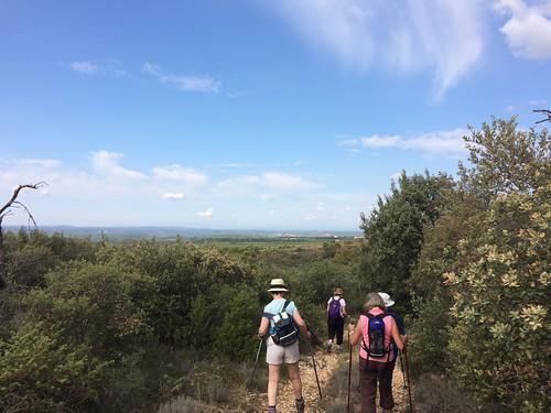 Overlooking the plain