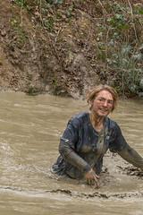 wading (stevefge) Tags: berendonck strongviking viking mud nederland netherlands nederlandvandaag people candid sport slippery girls endurance reflectyourworld