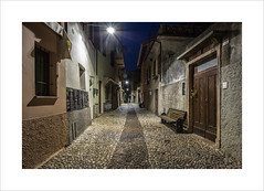 Malcesine Streets I (andyrousephotography) Tags: italy lakegarda malcesine postcard image town oldtown oldeworlde streets tourists tourism shops bars restaurants locals deserted quite dawn morning bluehour andyrouse canon eos 5d mkiii