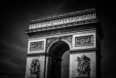 Arc de triomphe de l'toile (Stphane Slo) Tags: arcdetriomphedeltoile architecture france hdr monuments paris pentax pentaxk3ii city clouds nuages urban urbanlandscape ville