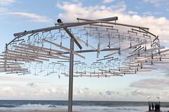 Clothes hangers (Rambo2100) Tags: sculpturebythesea sculpture sydney rambo2100 australia hillshoist canon inrainbows clothes hangers tamarama beach ocean sand 50mm sxsbondi16 bronekkozka fairdinkumoffshoreprocessing