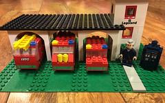 2016-294 - Throwback Thursday (Steve Schar) Tags: 2016 wisconsin sunprairie iphone iphone6s project365 project366 lego minifigure doctorwho tardis 1973 throwbackthursday lego570firehouse lego570 firehouse firetruck firetrucks legoland tbt
