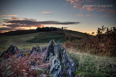 Bradgate autumn sunset (marc_leach) Tags: landscape photography sunset sun hill rocks clouds leicestershire uk canon sigma 1850mm