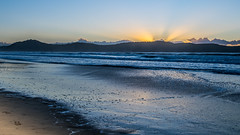 Watching the sun come up at Umina Beach (Merrillie) Tags: uminabeach landscape nature australia nswcentralcoast newsouthwales sea earlymorning nsw beach centralcoastnsw umina morning outdoors waterscape sunrise waves water seascape