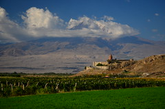 Khor Virap, Armenia (phudd23) Tags: khorvirap armenia armenian orthodox church monastery khorvirapmonastery ararat mountararat vineyard