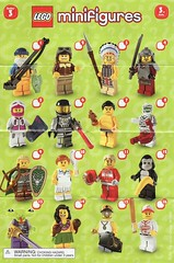 Collectible Minifigures Series 03 (AB Quest) Tags: lego collectible minifigures